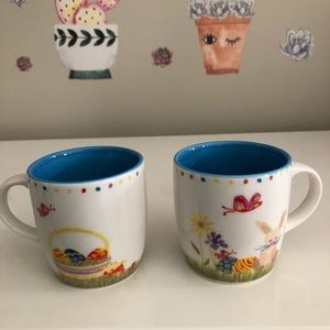 2 x Starbucks Easter Design 6oz mugs / cups